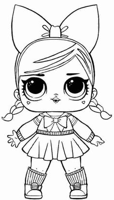 Lol coloring pages series 3 Unicorn Coloring Pages, Coloring Pages For Girls, Cartoon Coloring Pages, Disney Coloring Pages, Coloring Pages To Print, Free Printable Coloring Pages, Colouring Pages, Coloring Sheets, Coloring Books