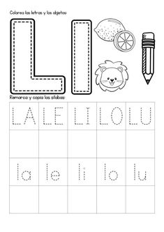Mi Cuadernillo de Sílabas - Imagenes Educativas Spanish Lessons For Kids, Spanish Teaching Resources, Science Worksheets, Worksheets For Kids, Infant Activities, Preschool Activities, Homeschool Kindergarten, Free Preschool, Fun Math