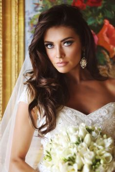 Holy crap i hope i look like this!   Marissa Powell Bridal Beauty: Airbrush Makeup