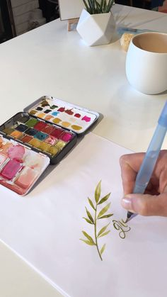 Another little timelapse I created to demonstrate how to use a waterbrush pen and watercolor to illustrate and letter. Learn more with me www.lifeidesignonline.com
