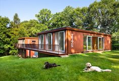 Old Lady Shipping Container House is a Modern Masterpiece | Inhabitat - Sustainable Design Innovation, Eco Architecture, Green Building