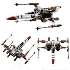 LightCraft Miniatures repaint collection! (1/270th scale for X-Wing TMG) - Imgur