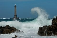 Phare de Goury à la pointe de La Hague (Cotentin) -  - Vos photos des phares de France