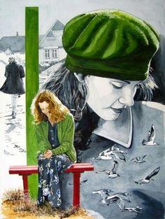 Odylle! Artiste Peintre Aquarelliste Contemporain - Oise, Picardie, France