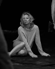 Kate Moss by Peter Lindbergh for Naked Cashmere