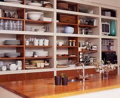 open shelves, love..