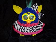 Custom Made Furby Boutique Clothing    https://www.etsy.com/listing/121097778/new-custom-made-2012-furby-skirt-hairbow