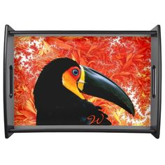 Toucan 3 Serving Tray