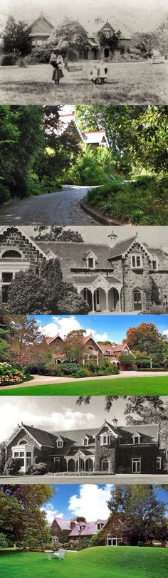 Invergowrie, Hawthorn (Melbourne), was originally named Burwood. It was built in c1846 for businessman and politician Sir James Palmer, Mayor of Melbourne, first Speaker (and later president) of the Victorian Legislative Council, and member of the Hawthorn Municipal Committee. His rambling bluestone house, in uncommon Picturesque Gothic style, is situated on an elevated site; it was then a rural retreat far from the bustle of the city. The slate roofed house is single storied (it originally…