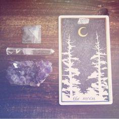 moon | crystals
