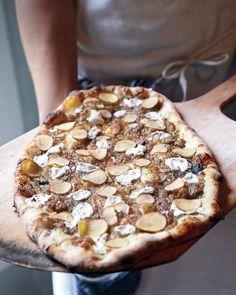Potato Pizzas Recipe