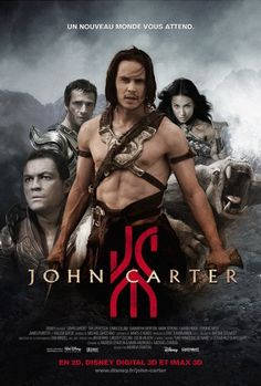 John Carter. This movie was actually way better than it was given credit for.