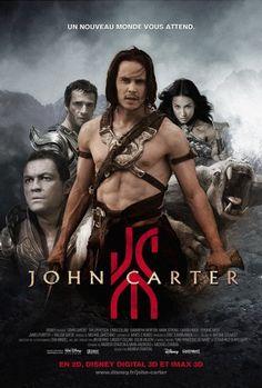 French John Carter Poster