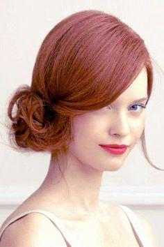 Side Chignon Hair Ideas