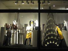 Banana Republic - London - Oct. 2012  via retailstorewindows.com