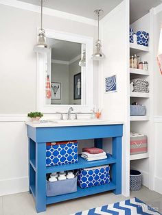 "Deal the Duplicates You may be surprised by just how many bottles of shampoo you have lurking under your sink. Try professional organizer Lauren Leist's ""shop from home strategy"": Store your excess products elsewhere and check your inventory before you go shopping. /"