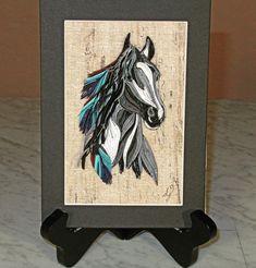 Paper Quilling Designs, Quilling Cards, Free Spirit, Handmade Art, Cactus, Delicate, Paper Crafts, Horses, 3d