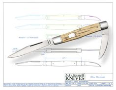 A.G. Russell Designed Folder Project