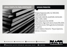 Grupo Diaço - Linha completa para Mineração ! #diaco #serra #es