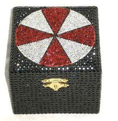 Resident Evil Umbrella Corporation Musical Jewelry Jewellery Box by PlayBox