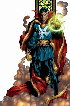 Not the most popular Marvel character, and what a cheesy outfit... but I still like Dr. Strange.