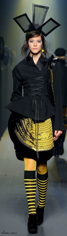 #2locos www.2locos.com Jean Paul Gaultier Fall 2015 Couture
