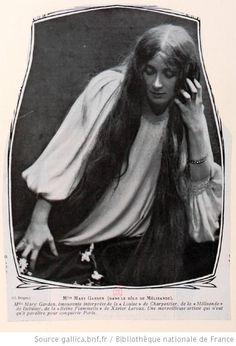Mary Garden : [portraits et documents] - 3 Vintage Photos Women, Opera Singers, Bnf, Very Long Hair, Silent Film, Ciel, Ephemera, Searching, Magazines