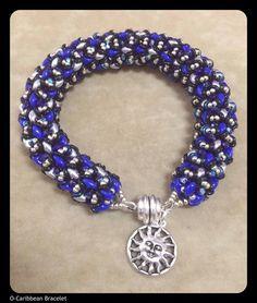 O-Caribbean Bracelet beaded by Susan Giuliano. Beautiful! Thank you for sharing!