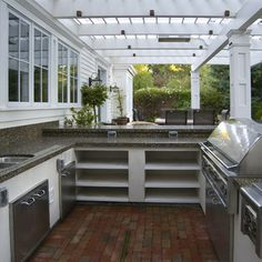 Outdoor Kitchen Design Ideas, Pictures, Remodel, and Decor - page 13
