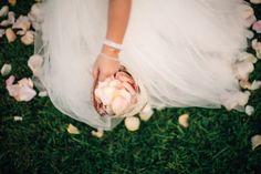The magic of flower girls #cedarwoodweddings Softly Lit Outdoor Wedding :: Elizabeth+Charlie | Cedarwood Weddings