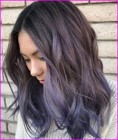 Haare 15 Trendy Lila Balayage Haar Ideen Buying Petite Clothing Made Easy All you girls Hair Color Purple, Cool Hair Color, Purple Ombre, Lavender Colour, Pastel Purple Hair, Lavender Ideas, Lilac Hair, Color Blue, Ombre Hair Lavender