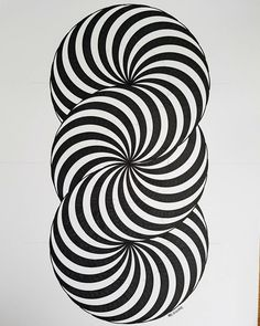 Artist and Art Director based in Barcelona. Op Art, Illusion Kunst, Illusion Art, Illusion Paintings, Cool Optical Illusions, Art Optical, Geometric Designs, Geometric Shapes, Math Art