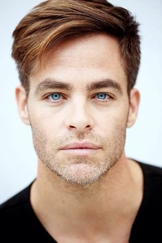 Chris Pine photographed by Matt Sayles