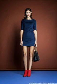Moda Argentina otoño invierno 2014. Estancias Chiripá vestidos cortos colección otoño invierno 2014.