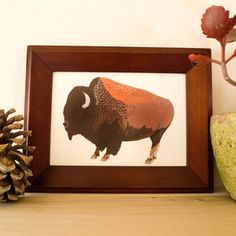 Buffalo Print now featured on Fab.