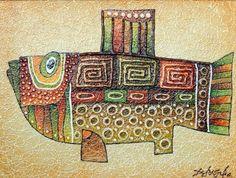 Картины (живопись) : Рыба