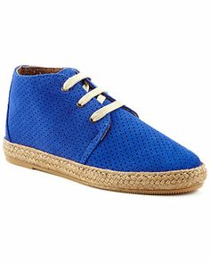 "Some of you have to get in on this: Eric Michael ""Alex"" Suede Sneaker"
