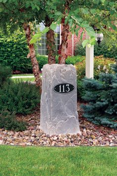 This #Dekorra rock is hiding a well pipe... doubling as an address marker! Get yours at www.allmockrocks.com