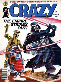 Comic Book Critic - Google+ - Crazy #66 (Sep '80) cover by James Sherman.