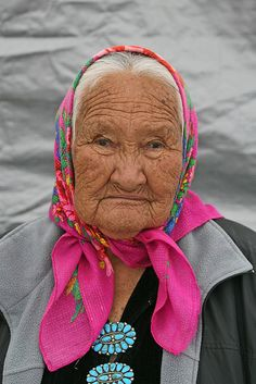 elder in pink, via Flickr.