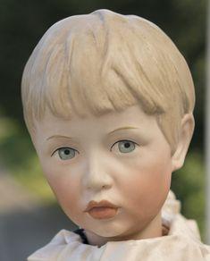 46 см Редчайшая характерная кукла немецкой фирмы Kammer&Reinhardt - отливка 102 - на сайте антикварных кукол.