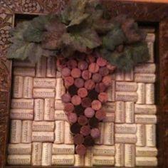 Wine cork art :)