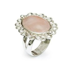 NOVICA Fair Trade Sterling Silver Rose Quartz Cocktail Ring (960.610 IDR) ❤ liked on Polyvore featuring jewelry, rings, cocktail, rose quartz, sterling silver statement ring, polish jewelry, fair trade jewelry, statement rings and fair trade rings