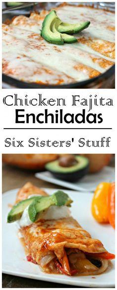 Enchiladas just got a whole lot better! From Sixsistersstuff.com
