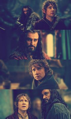 Bilbo and Thorin