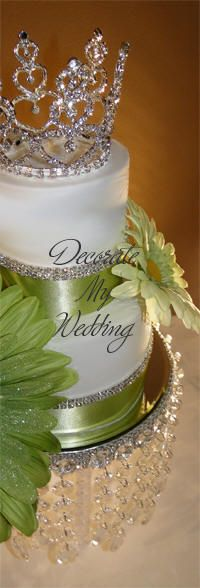 Swarovski Crystal Cake Crown Deanna