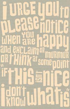 happy is nice