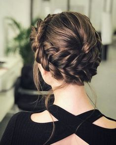 Beautiful Crown Braid Hairstyles Ideas 26