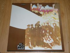 LED ZEPPELIN - Led Zeppelin II - GERMAN PRESS VINYL LP - ATLANTIC K 40037