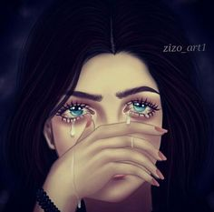 Girly M, Girly Girl, Emotional Drawings, Diana, Hair Png, Girly Drawings, Sad Art, Fantasy Photography, Girls Dpz